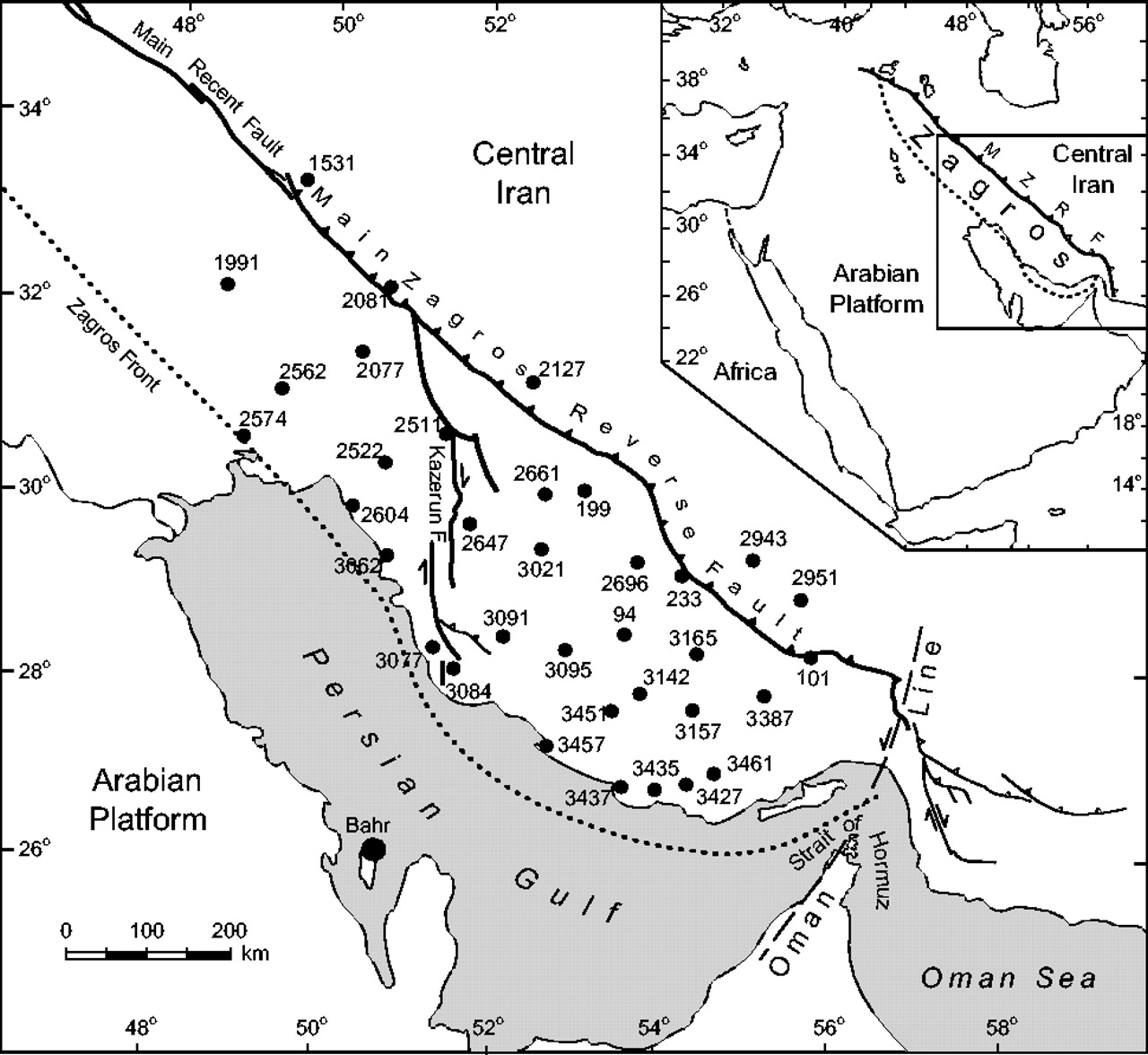 active deformation within the zagros mountains deduced from gps Myanmar Landscape download figure
