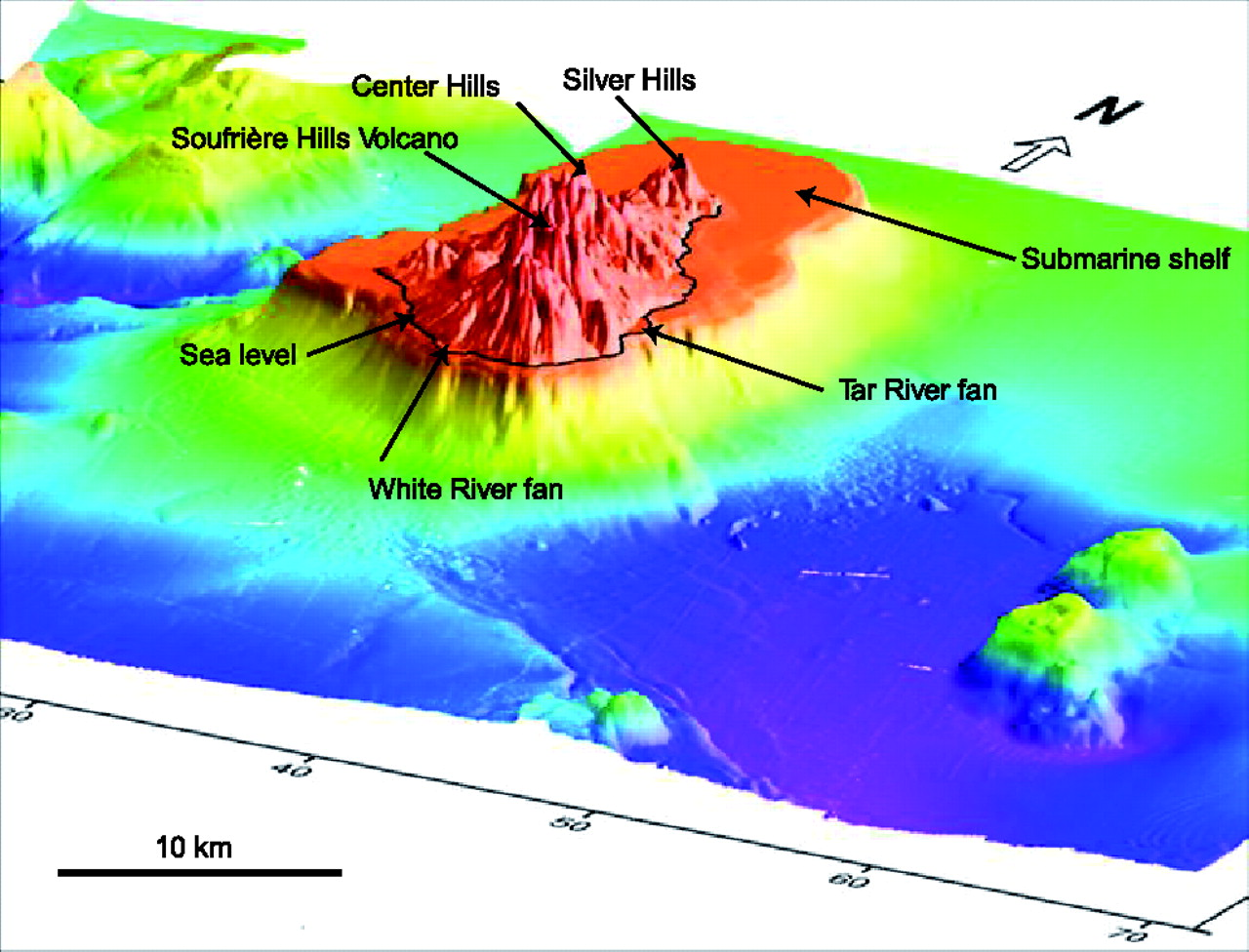 Submarine Deposition Of Volcaniclastic Material From The 19952005