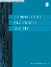 Journal of the Geological Society: 166 (1)